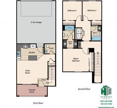 Floorplan for Plan 1