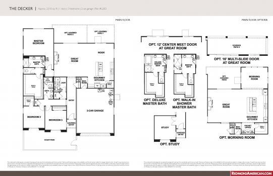 Floorplan for Decker