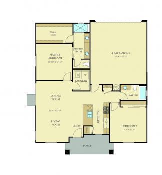 Floorplan for Copper 1232