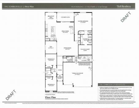 Floorplan for Summerfield