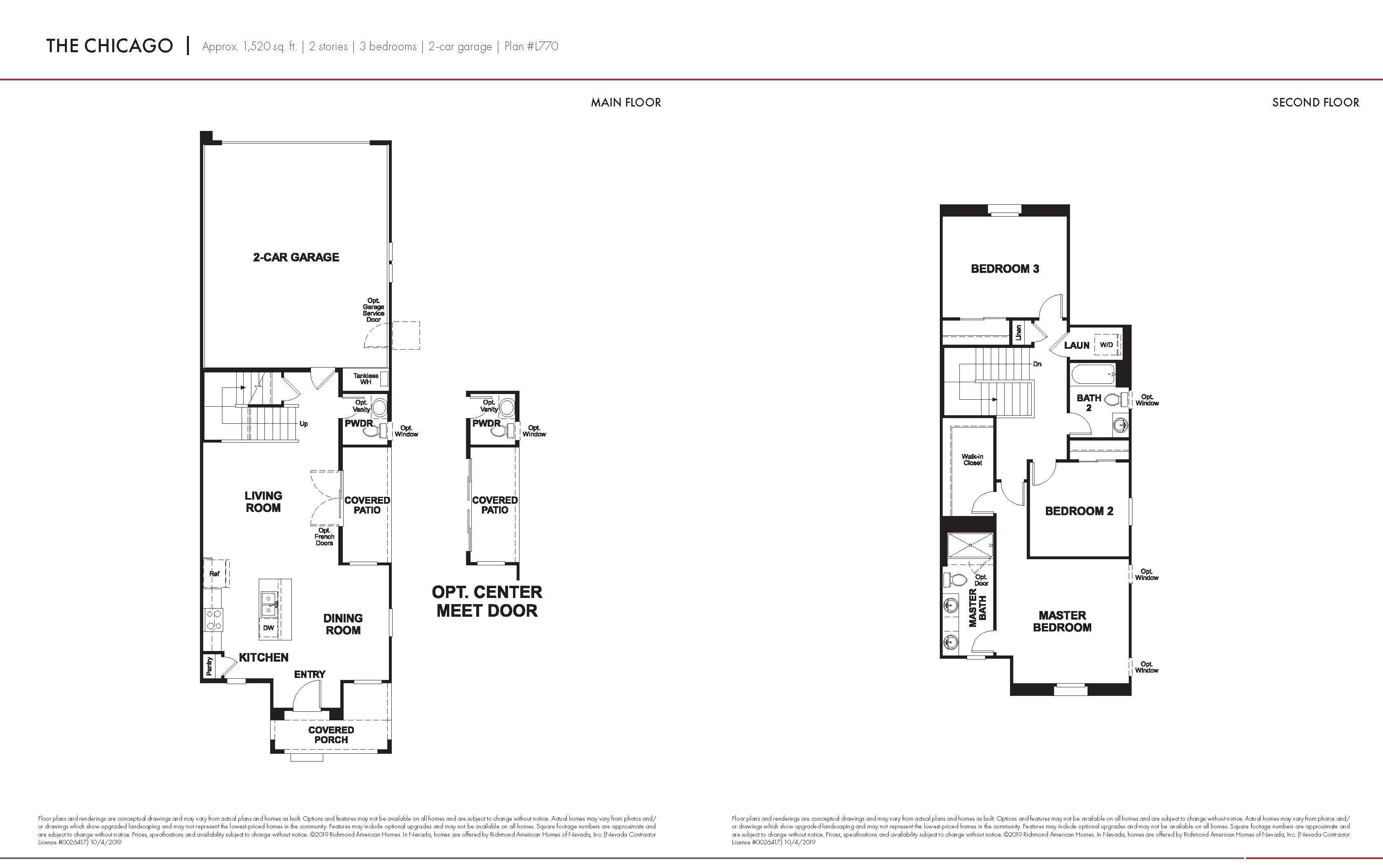 Floorplan for Chicago