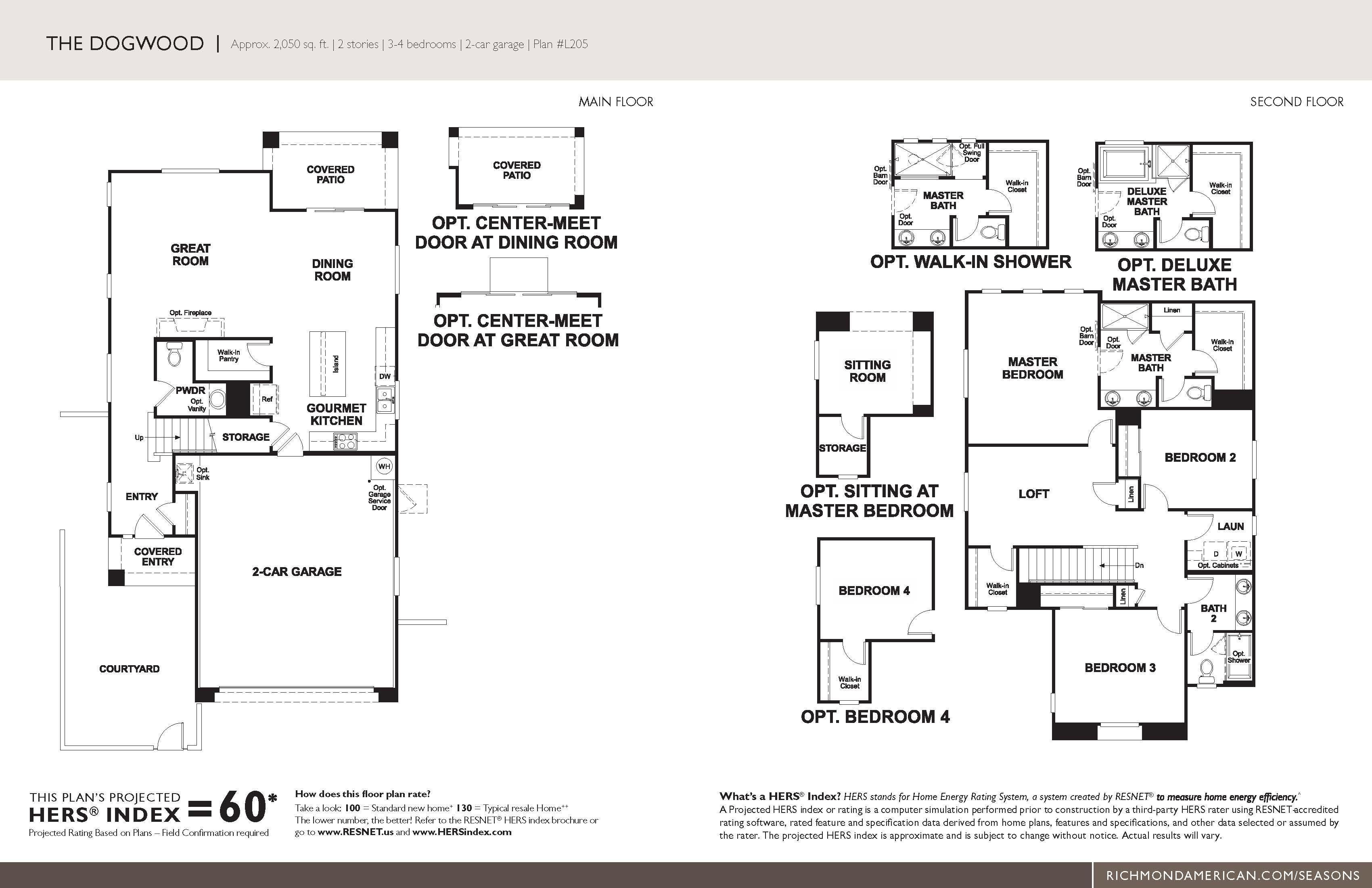 Floorplan for Dogwood