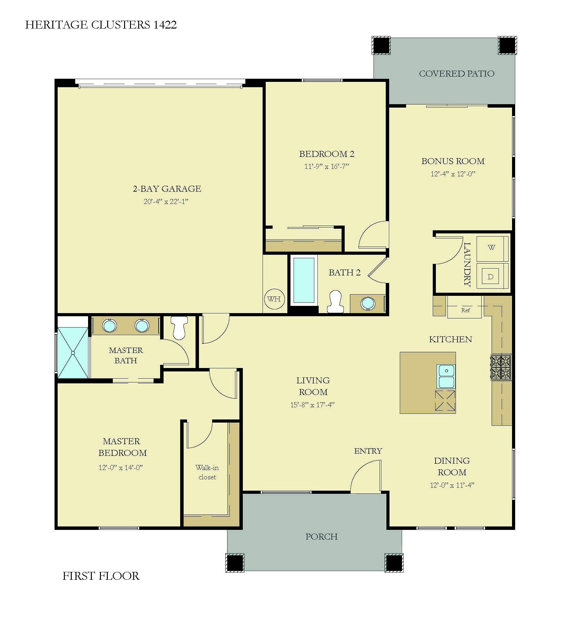 Floorplan for Adonis 1422
